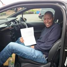 Well done to Mr. Patrick Ngabia who passed today.